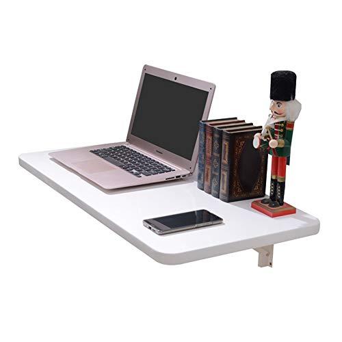 WNX Vielseitiger Wand-Drop-Leaf-Tisch aus Holz, Klapp-Schreibtisch für Küche und Esszimmer, Home Office Desk Workstation - Weiß (größe : 80×40cm) - Verkauf Workstation