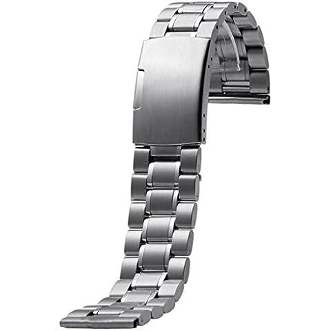 Clode® Cinghia del Cinturino in Acciaio Inox
