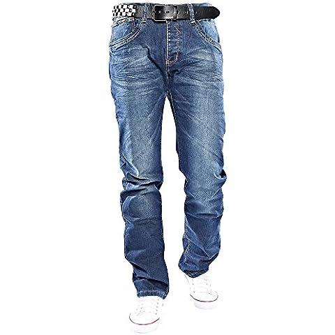 Diseñador elyn G. moda B5639 Hombres estiramiento flacos de los tejanos Diseñador Jeans Pantalones Ropa de Club Estrella Estilo W29-W38 / L32-L34