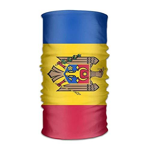 Osmykqe Moldovan Unisex Outdoor Sport Schal Stirnband Halstuch Halstuchband Kopftuch Stirnband Kopfbedeckung (Gute Schnelle, Aber Halloween-kostüme)