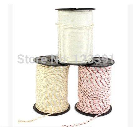 2rotoli di 0.9m di diametro di 3.5mm e 5.0mm corda di avviamento/start corda per motosega a benzina Zenoah G4500/5200/5800