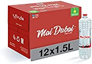 Mai Dubai Bottled Water, 12 x 1.5 Litre