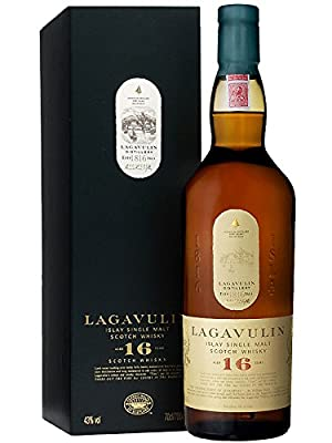 Lagavulin 16 Year 0.7 Litres Single Malt Scotch Whisky 43%