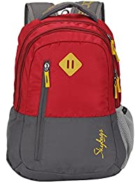Skybags Leo 26 Ltrs Red Casual Backpack (BPLEO3RED)