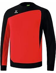 erima Tops langarm Club 1900 Trainingssweat - Camiseta de portero de fútbol para niño, color rojo / negro, talla XL