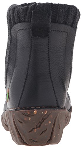El Naturalista Ne23 Soft Grain Black/Yggdrasil, Bottes Chelsea Femme Noir (Black N01)