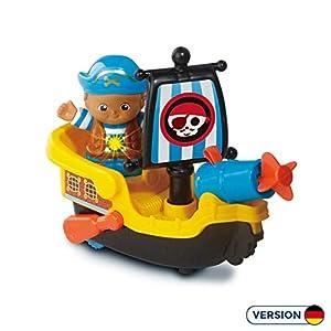 VTech 80-178804 vehículo de Juguete - Vehículos de Juguete (Black,Blue,Yellow, Boat, Plastic, Indoor, 1 yr(s), 5 yr(s))