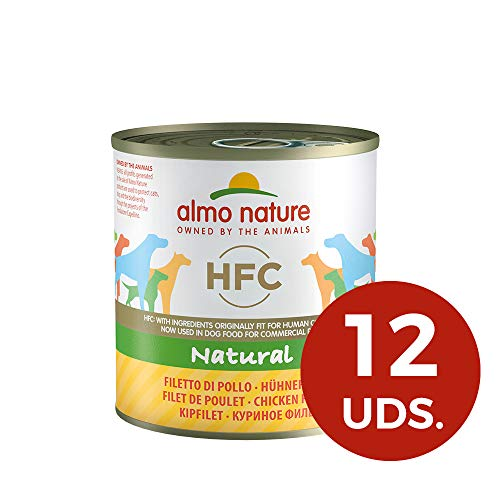 Almo Nature Dog HFC Natural Filete de Pollo - Paquete de 12...