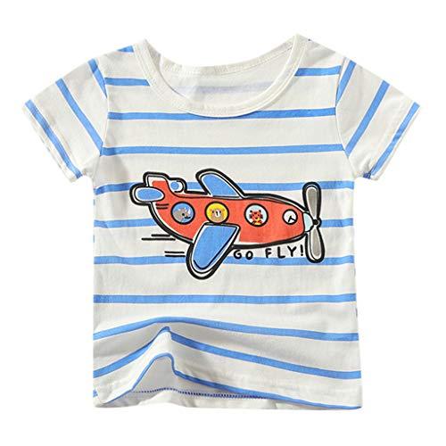 Cuteelf Kurzarm Badeshirt für Kinder - LSF50+, Schwimmshirt, Flache Nähte, Rash Guard für Jungen & Mädchen - Für Schwimmen & unter einem Neoprenanzug -