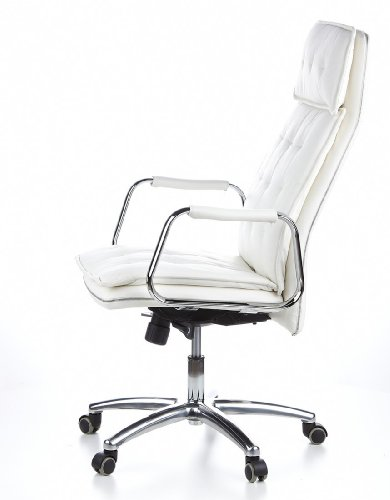 HJH OFFICE 600922 Bürostuhl / Chefsessel VILLA 20 Nappaleder elfenbein - 13