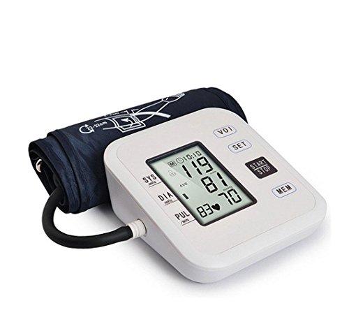 Liu misuratore di pressione da braccio - monitoraggio clinico 99 paia di memoria del misuratore di sangue di spessore