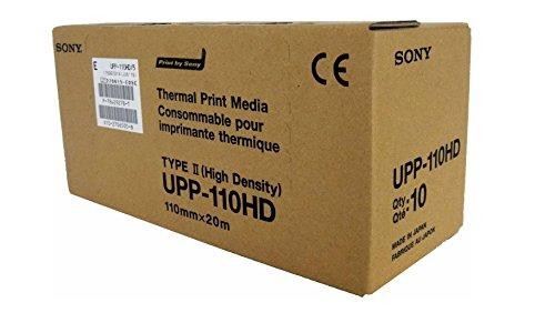 SONY UPP110HD Rollos papel térmico alta densidad
