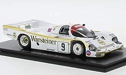 Unbekannt Porsche 956, No.9, Warsteiner, 24h Le Mans, 1984, Modellauto, Fertigmodell, Spark 1:43
