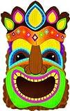 Folienballon * TIKI MASKE * als Dekoration für Kindergeburtstag und Motto-Party // Kinder Geburtstag Deko Indianer