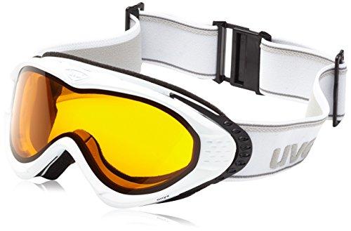 UVEX Skibrille onyx White Mat Dl/Goldlite, one size