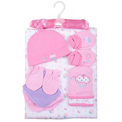 Ensemble cadeau pour bébé - 9 pièces - Disponible en 3 couleurs