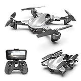 CWHALE WiFi FPV Drone avec 4K / 1080P caméra HD, RC Drone avec positionnement de Flux Optique et Altitude Gesture Hold contrôle RC Quadcopter Facile à Fly Toy Cadeau pour Les garçons,1080P