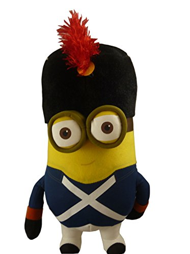 "10"" Despicable Me 3 Soft Toy -Minion Soldier In Uniform - Minion Movie"