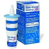 Hylo-Vision Safe Drop Gel Spar-Set 4x10ml; dient der verbesserten langanhaltenden Befeuchtung der Augenoberfläche und ist zur Benetzung von harten und weichen Kontaktlinsen während des Tragens gut geeignet