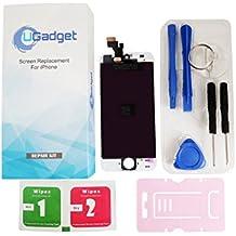"""UGadget nuevo blanco LCD de repuesto de la Asamblea digitalizador de pantalla táctil con kit de herramientas para iPhone 5(4 """")"""