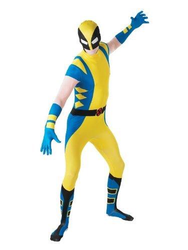 Wolverine - 2nd Skin - erwachsenes Abendkleid-Kostüm-Kleid - Large - 5'4