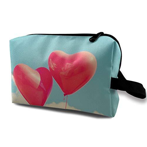llons Kosmetiktaschen Make-up Veranstalter Tasche Tasche Reißverschluss Geldbörse Handtasche Clutch Bag ()