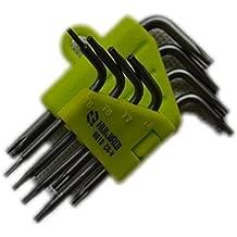Llaves de estrella Torx destornillador de seguridad conjunto de 8T5T6T7T8T9T10T15T208en 1Durable Llave de estrella conjunto de herramientas