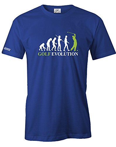 GOLF EVOLUTION - HERREN - T-SHIRT in Royalblau by Jayess Gr. XL