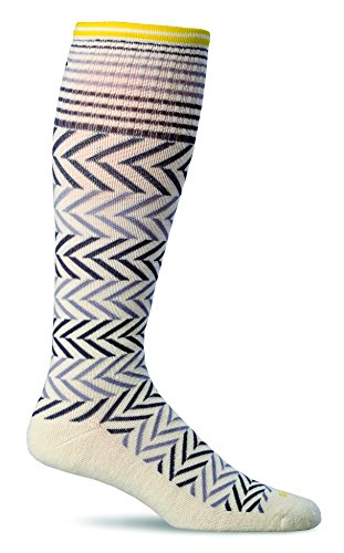 Sockwell Women's Chevron Graduated Compression Socks-Ideal for-Travel-Sports-Nurses-Pregnancy-Reduces Swelling