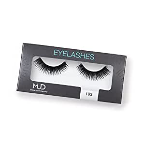 MUD Eyelash 103 Fake Eyelashes, Black, 10g