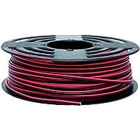 Cofan 51002675 Rollo Cable Paralelo, Rojo y Negro, 2 x 0.75 mm, 100 m