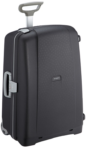 Samsonite Aeris Valigia, Upright 71 (71cm-87.5L), Nero (Black)