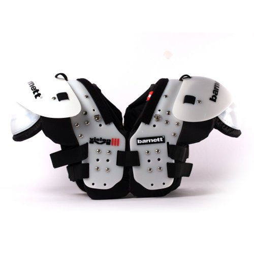 barnett football shoulder pad VISION III for competition , QB-WR-RB-DB Test