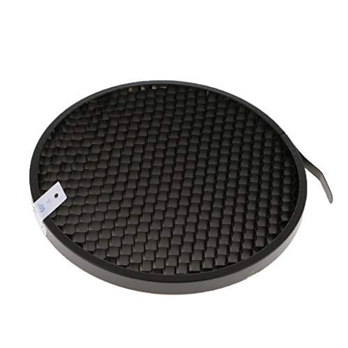perfk 60-Grad Wabengitter Honeycomb 16,7 cm Aluminiumlegierung für Standard Reflektor Beam Diffusor