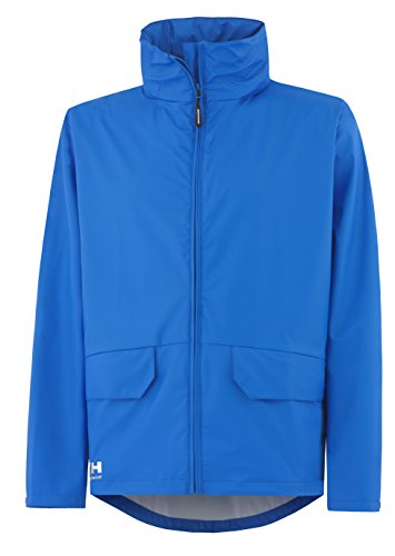 Helly Hansen Workwear Regenjacke wasserdicht Voss Jacket, Blau, 70217, XL (Absolute Outdoor-jacke)