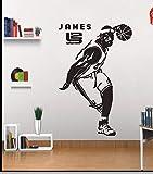 WSJIABIN Atickers muralAffiche Autocollant dortoir Chambre Fond Stickers muraux 82x54cm