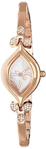 Titan Raga Analog Mother of Pearl Dial Women's Watch - NE2012WM01