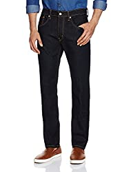 Levis Mens 65504 Straight Fit Jeans (6901778304137_65504-0273_36W x 34L_Black)