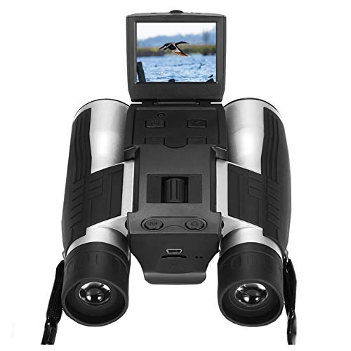 Dreamy 5,1cm LCD-Display, HD-Digitalkamera/Fernglas 12x 32,5MP, Video-, Foto-Rekorder, Digitalkamera, Teleskop, für Vogelbeobachtung, bei Fußballspielen, im Konzert