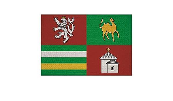 Yantec Patch Tschechien 4 x 6 cm Flaggenaufn/äher