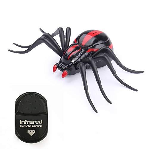 laonBonnie Infrarot Fernbedienung Realistische Gefälschte Spinne RC Streich Insekt Bugs für Witz Scary Trick Spielzeug Kind Geschenk Halloween Party