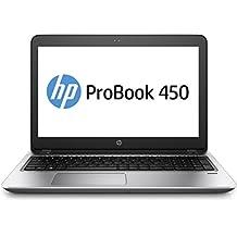"""HP ProBook 450 G4 2.7GHz i7-7500U 15.6"""" 1920 x 1080Pixeles Plata - Ordenador portátil (Portátil, Plata, Concha, i7-7500U, Intel Core i7-7xxx, BGA1356)"""