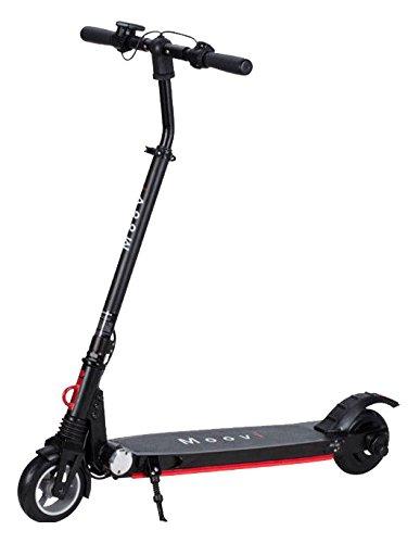 MOOVI E-Scooter klappbar City Elektro Roller 150W Motor Pocket Bike 20 km/h Griff Gas Scooter LED Licht faltbar 02000