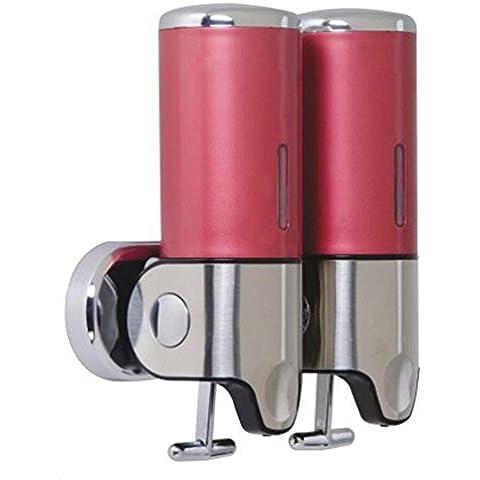 OOFAY YSPJ ® Presión inoxidable acero doble líquida jabón loción versátil jabón de la caja , red
