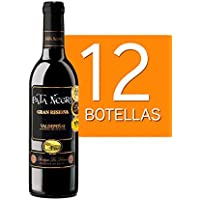 Lote de 12 Botellines Botellas Vino Pata Negra Valdepeñas Gran Reserva 375ml - Vinos Baratos para