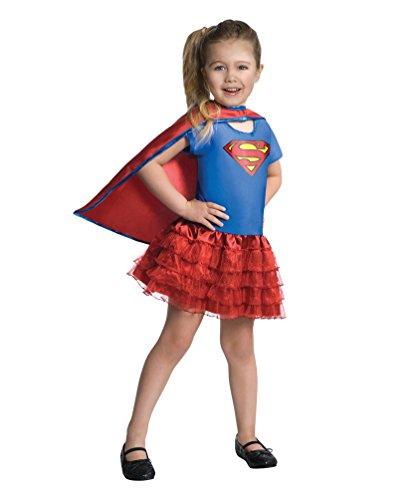Karneval Klamotten' Kostüm Supergirl Karneval Verkleidung Kinderkostüm Größe (Kostüm Supergirl Film)
