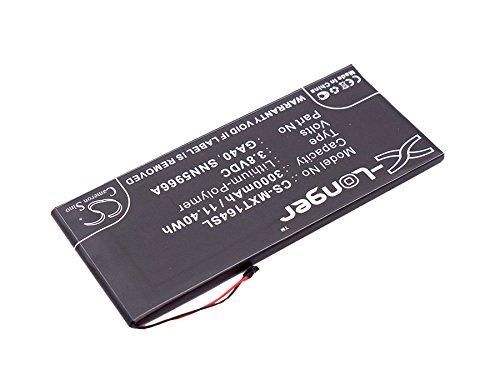 CS-MXT164SL Batteria 2700mAh compatibile con [MOTOROLA] Moto G4 Plus, Moto G4 Plus TD-LTE, XT1622, XT1625, XT1643, XT1644 sostituisce GA40, SNN5966A