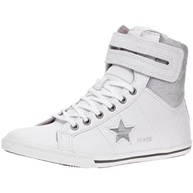 Converse Adult One Star Lo Pro Hi-Top, Baskets mode mixte adulte - Blanc, 35 EU (2.5 UK)