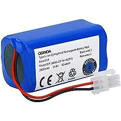TOOGOO 14.8V 2800Mah Batterie De Remplacement pour Ilife A4 A4S A6 V7 Aspirateur Robot