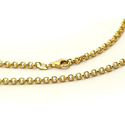 LIOR - Chaîne solide (non creux) en Or jaune 750/1000 0
